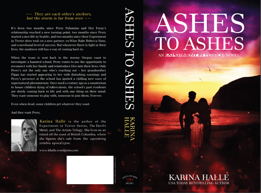 Cover reveal and official blurb – Ashes to Ashes